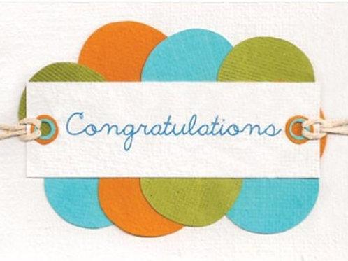 Congratulations Circles