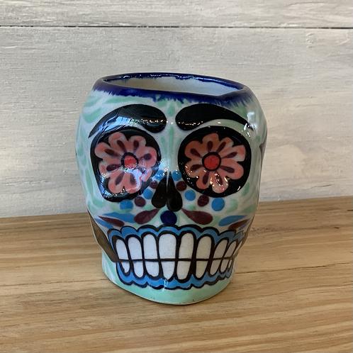 Sugar Skull Skeleton Mug
