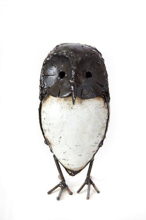 Metal Owl Figurine