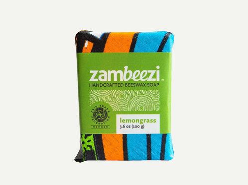 Handcrafted Beeswax Bar Soap Lemongrass