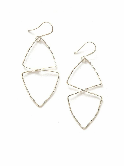 Good Fortune Textured Earrings