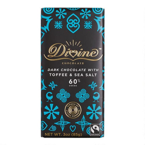 Dark Chocolate with Toffee & Sea Salt