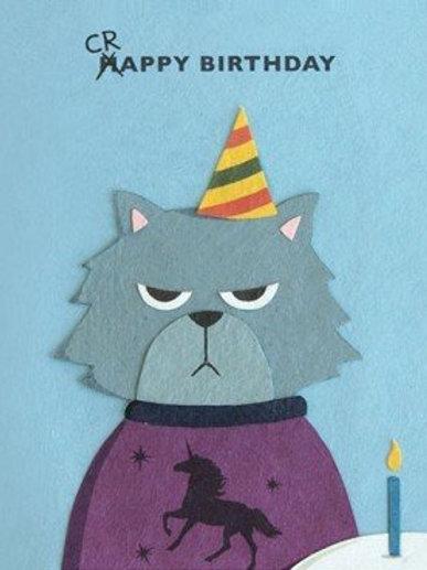 Grumpy Kitty Birthday