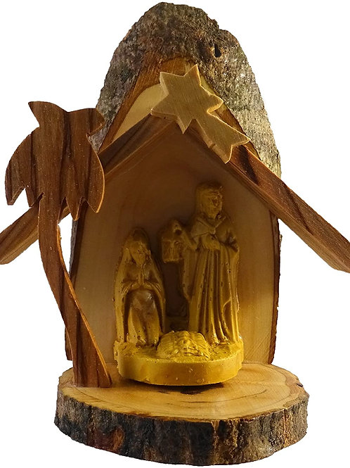 Small Olivewood Nativity