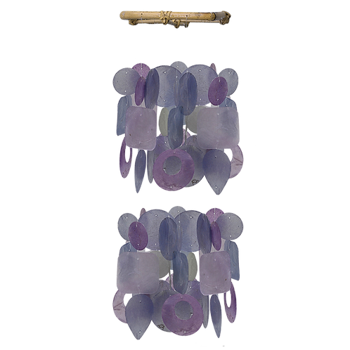 Orchid Capiz Chimes