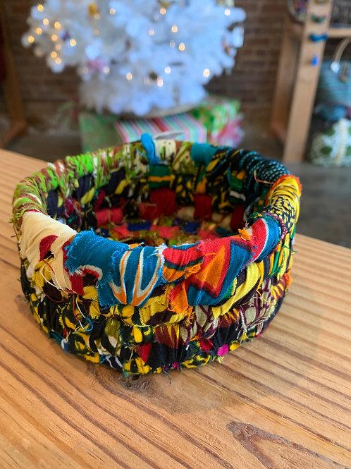 Small Fabric Bowl Bright Colors
