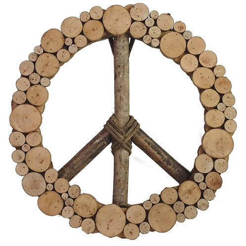 Layered Peace Wreath