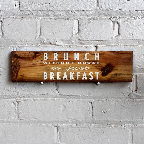Brunch Wall Sign