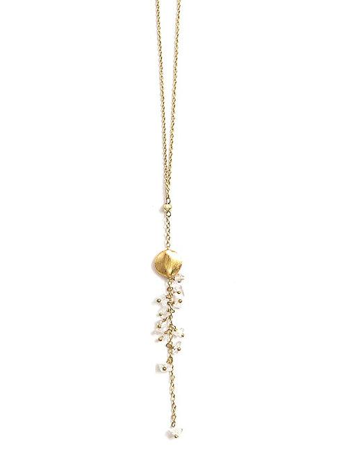 Delicate Dangle Stone Necklace