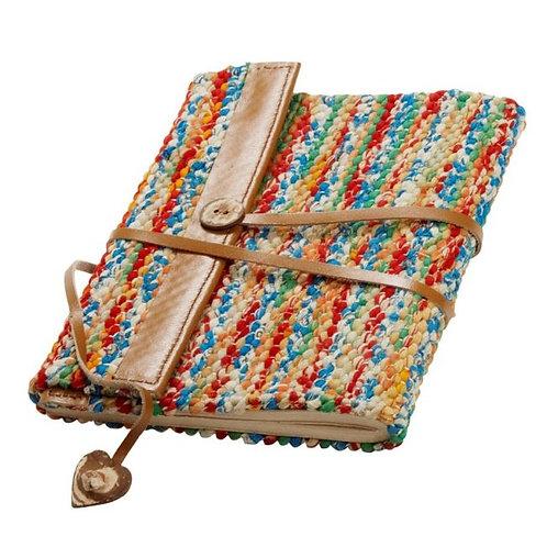 Sari & Leather Journal