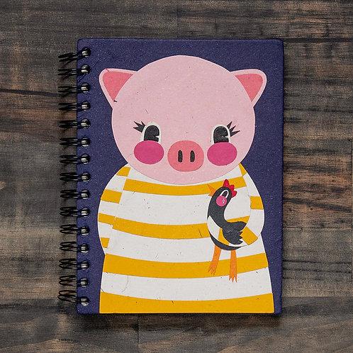 Paula Pig Notebook
