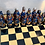 Thumbnail: Large Chess Set Yellow Tones