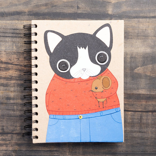Gregory Cat Notebook