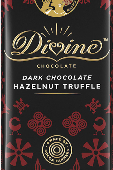 Dark Chocolate Hazelnut Truffle