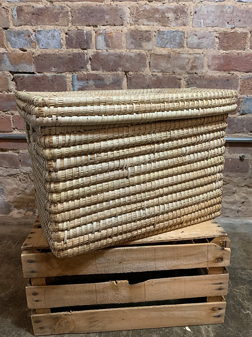 Kaisa Grass Basket with Lid Large