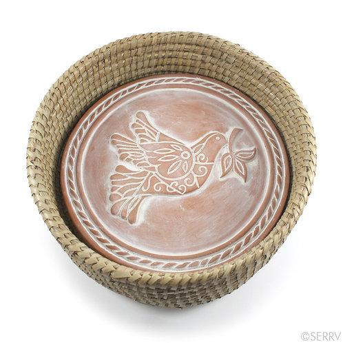 Peace Dove Breadwarmer