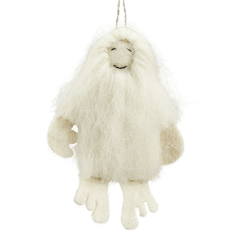 Yeti Ornament