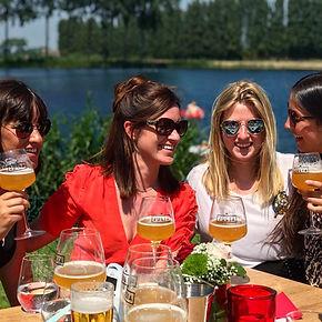 Friends of Julia Belgium, happy people, summer