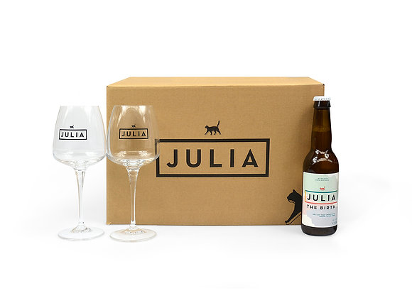 Deluxe Julia box 'The Birth'
