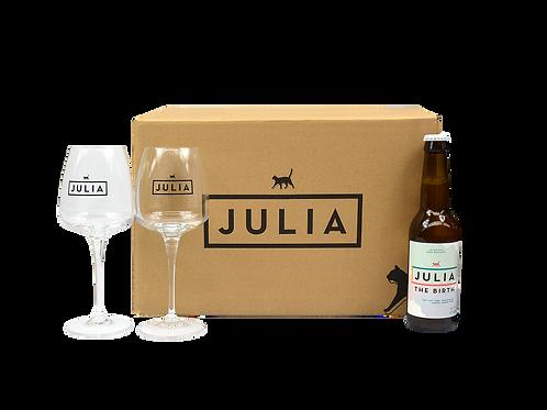 Deluxe Julia box 'The Birth'