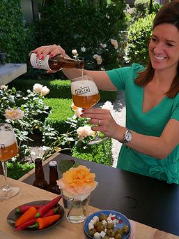Beer, bier, apero, Julia Belgium, summer