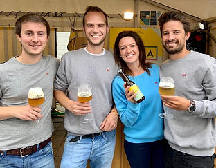 Founders of Julia Belgium, family, happy, team
