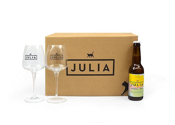 Normal Julia box 'Sunny Joy'