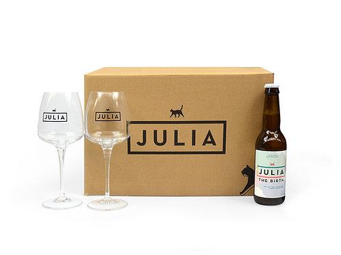 Normal Julia box 'The Birth'