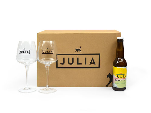 Deluxe Julia box 'Sunny Joy'