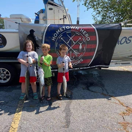 Team SC- Guided Striper Trip with Vets and their Kiddos