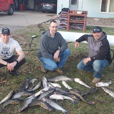 Team WI- Catfishing + Walleye's