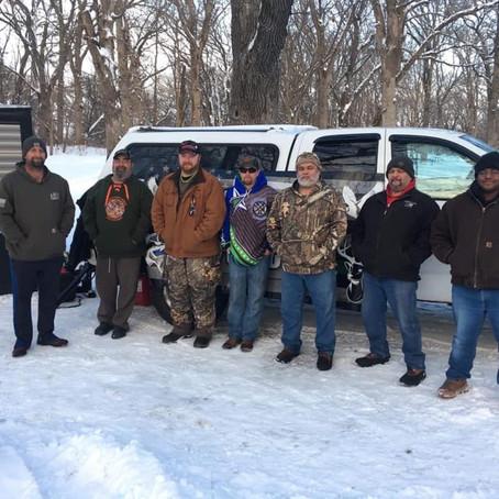 Ice Fishing with Team Iowa