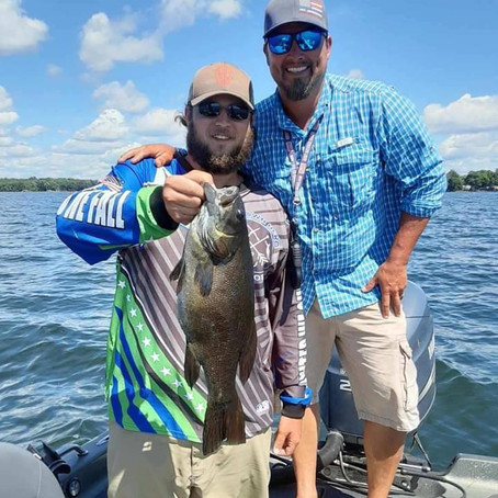 Smallies with Mike Verdeja