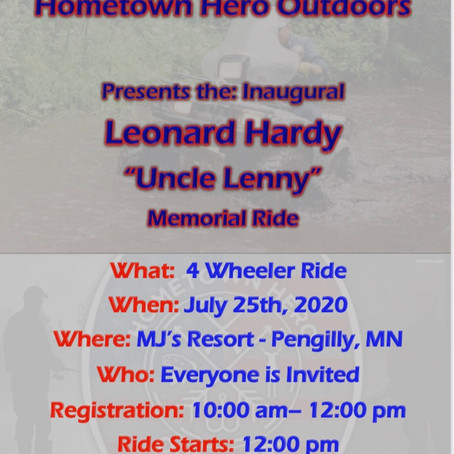 Uncle Lenny Memorial Ride 2020