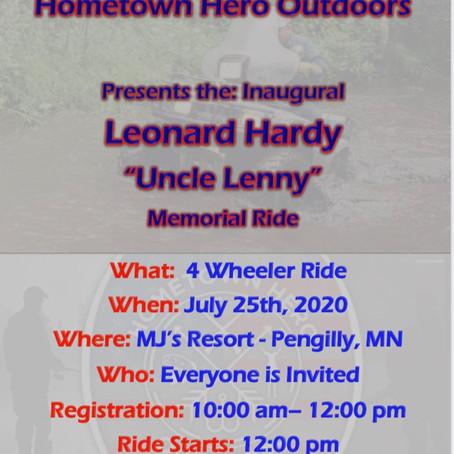 Uncle Lenny Memorial Ride 2020