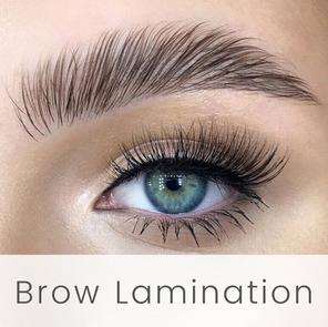 Brow Lamination at English Rose Beauty H