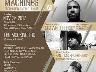 Backcourt Records & All Elements Present Master of the Machines Production Battle League VII @Sa