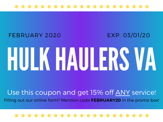 Hulk Haulers Va Junk removal and Moving Specialist