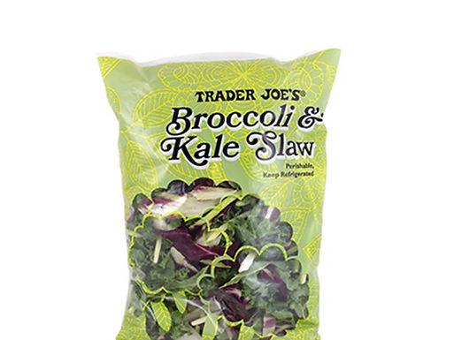 Trader Joe's Broccoli and Kale Slaw Salad