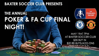 Poker and FA Cup Final Night 2018!!!