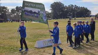 Under 11s Representing Baxter at the Kanga Cup