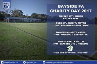 Bayside Football Association Charity Day