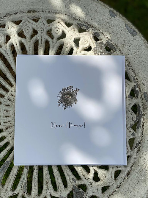 New Home Nest greeting Card