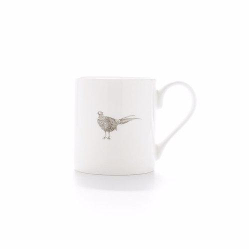 Fine Bone China Pheasant Mug