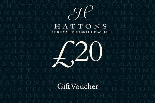 Hattons £20 Gift Voucher