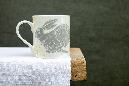Sam Wilson Headlong Hare Large Pattern Mug
