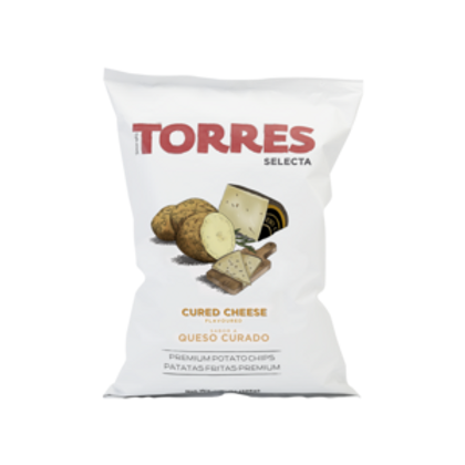 Torres Cured Cheese Potato Crisps, 150g