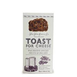 Festive Toast For Cheese Biscuits
