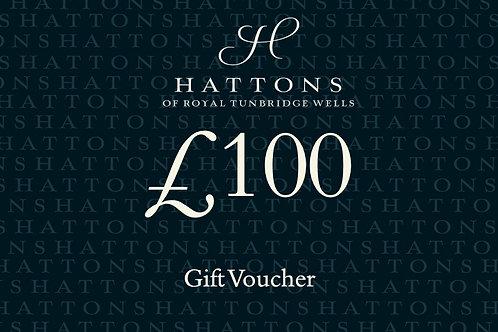 Hattons £100 Gift Voucher