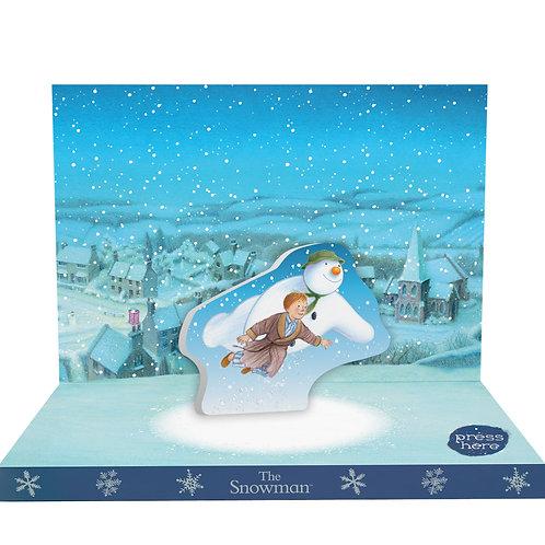 The Snowman Music Box Card